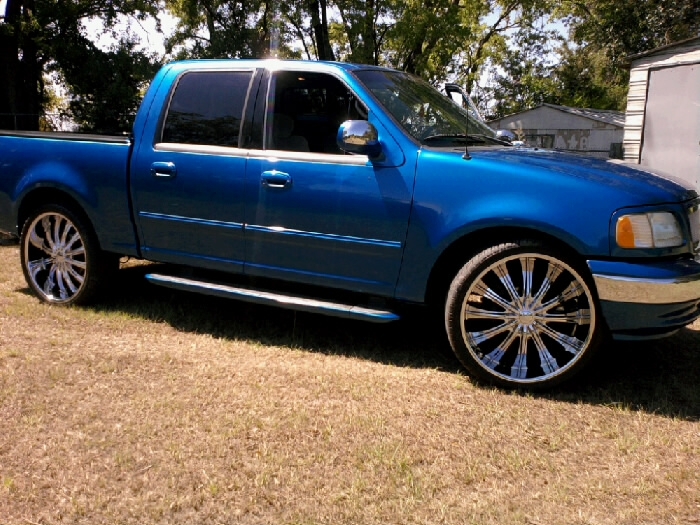 Octobersown 2002 Ford F150 Supercrew Cab S Photo Gallery At Cardomain