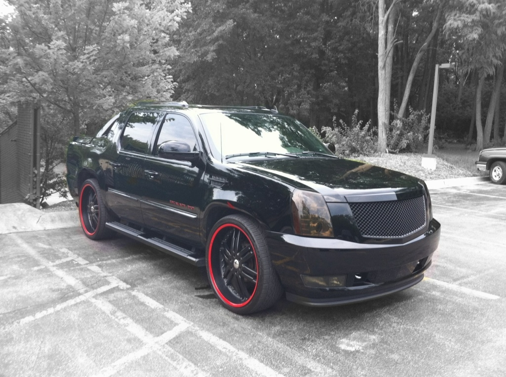dang5k 2008 cadillac escalade extsport utility pickup 4d 5. Black Bedroom Furniture Sets. Home Design Ideas