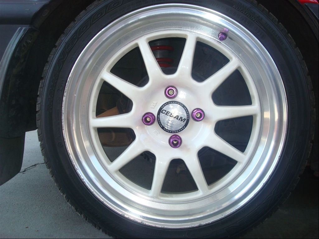 Purple Blox Extended Lug Nuts