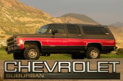 DJArtists 1991 Chevrolet Suburban 1500