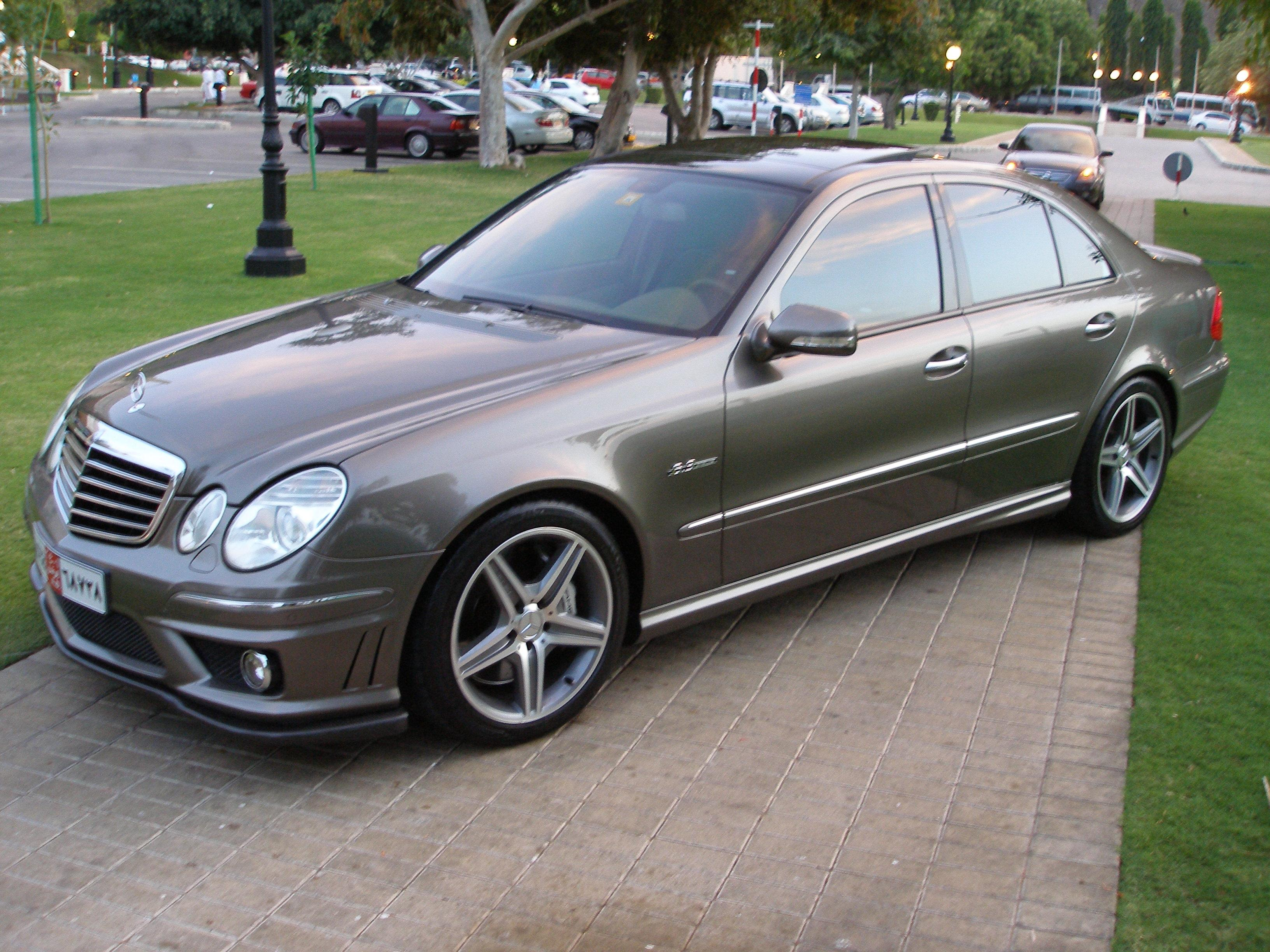 john silver 2007 mercedes benz e classe63 amg sedan 4d. Black Bedroom Furniture Sets. Home Design Ideas