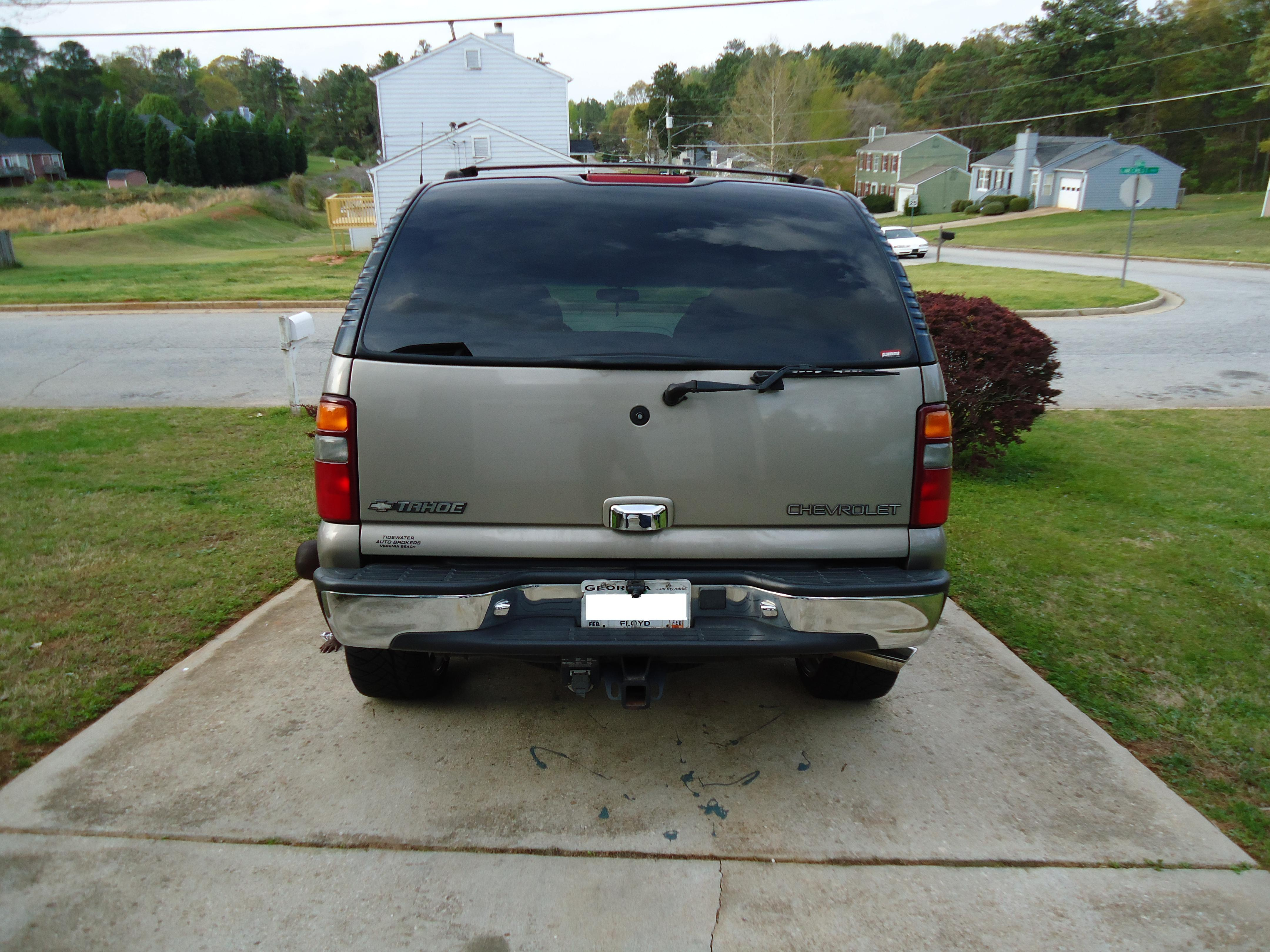 Another gawgakeith 2001 Chevrolet Tahoe post... - 14705893