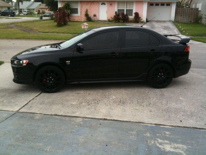 Aj33189 S 2009 Mitsubishi Lancer Gts Sedan 4d In Lake Worth Fl