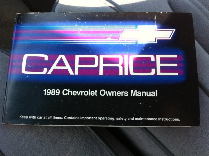 Another JonYoungMusic 1989 Chevrolet Caprice Classic post... - 14712053