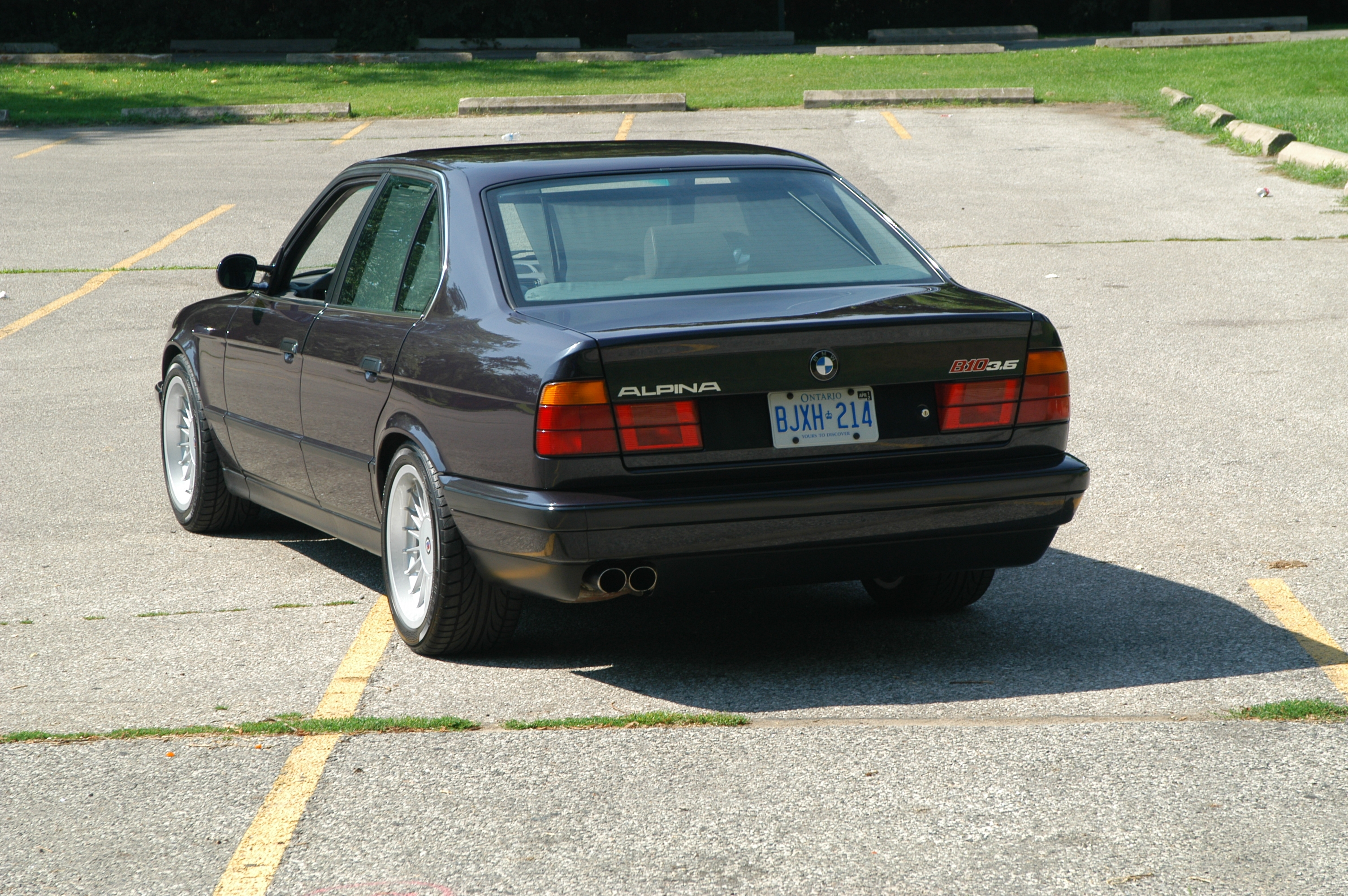 Alpinaman 1991 Bmw 5 Series Specs  Photos  Modification