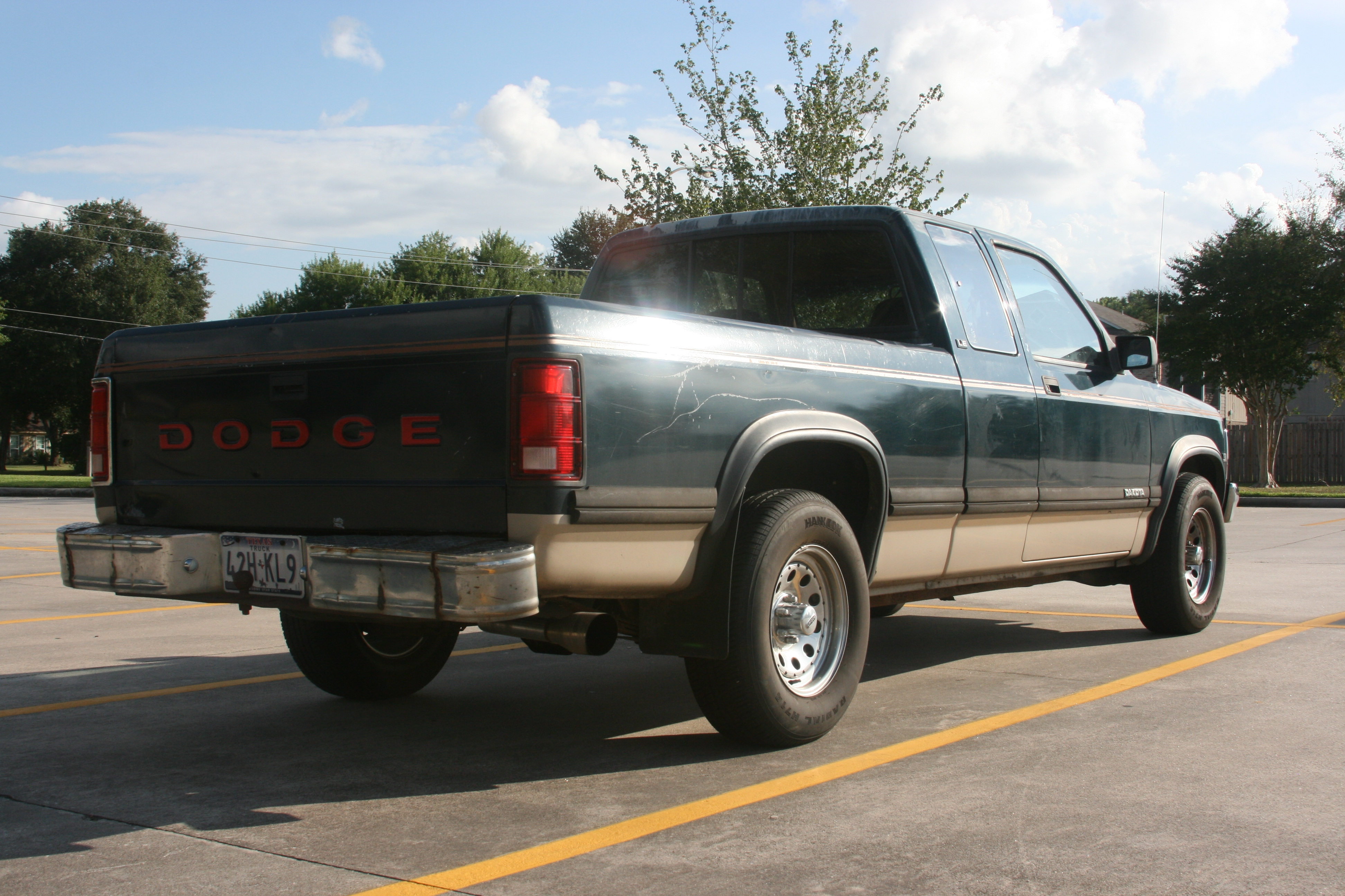 92dakotaV8 1992 Dodge Dakota Extended Cab 14723836