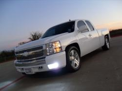 AllWhite08s 2008 Chevrolet Silverado 1500 Extended Cab