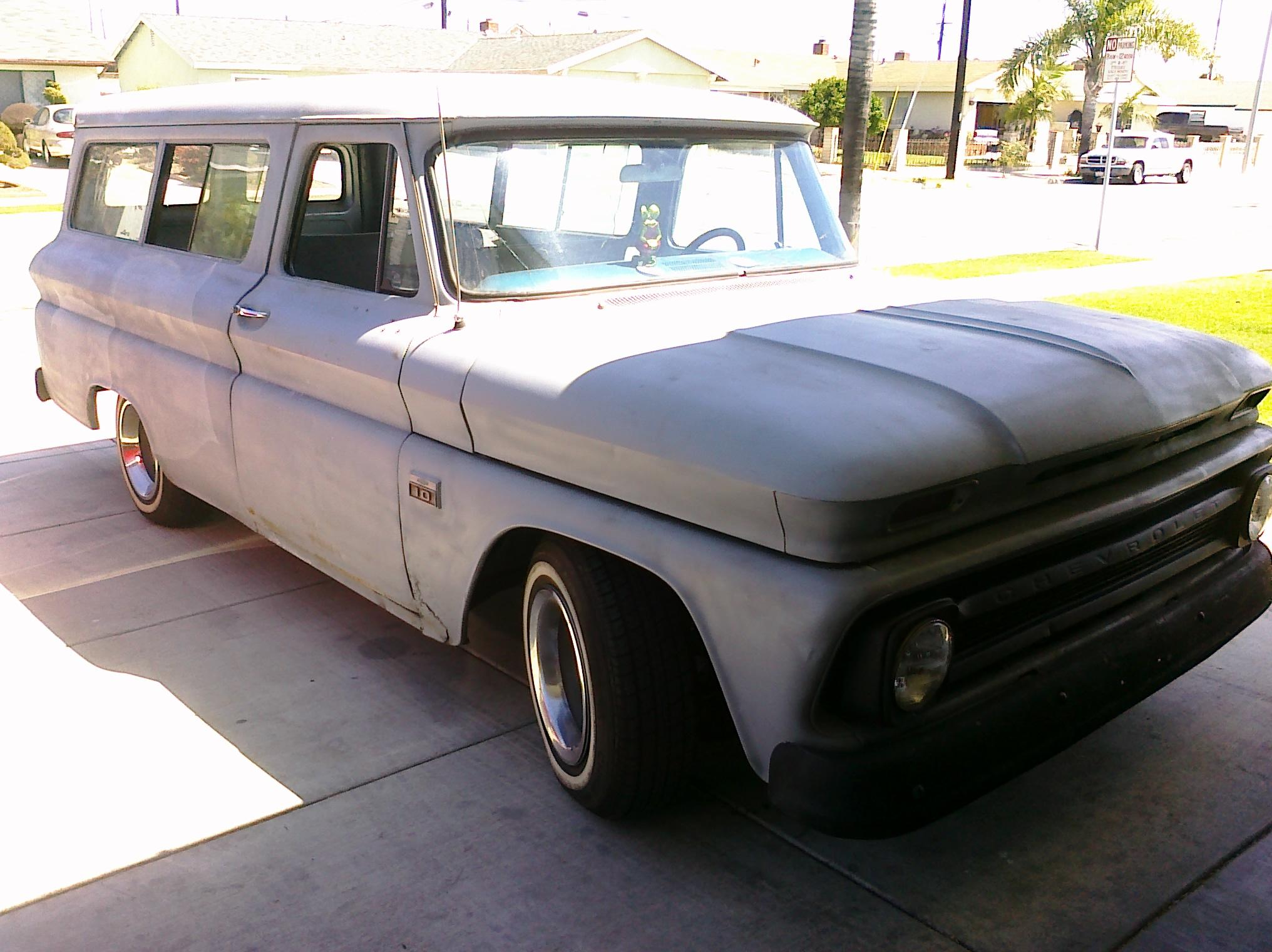 pin 1966 chevy suburban - photo #23