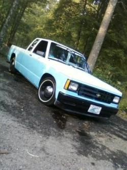 lowlifecustomsri 1987 Chevrolet S10 Extended Cab