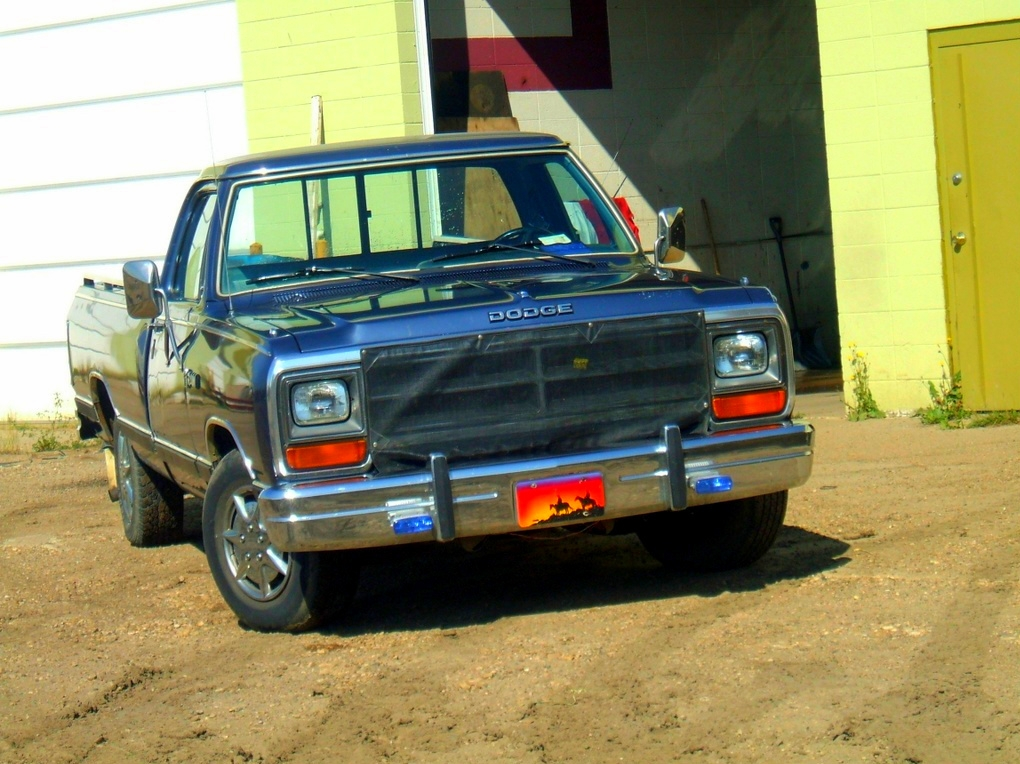 thesmallestfry 1986 Dodge D150 Regular Cab
