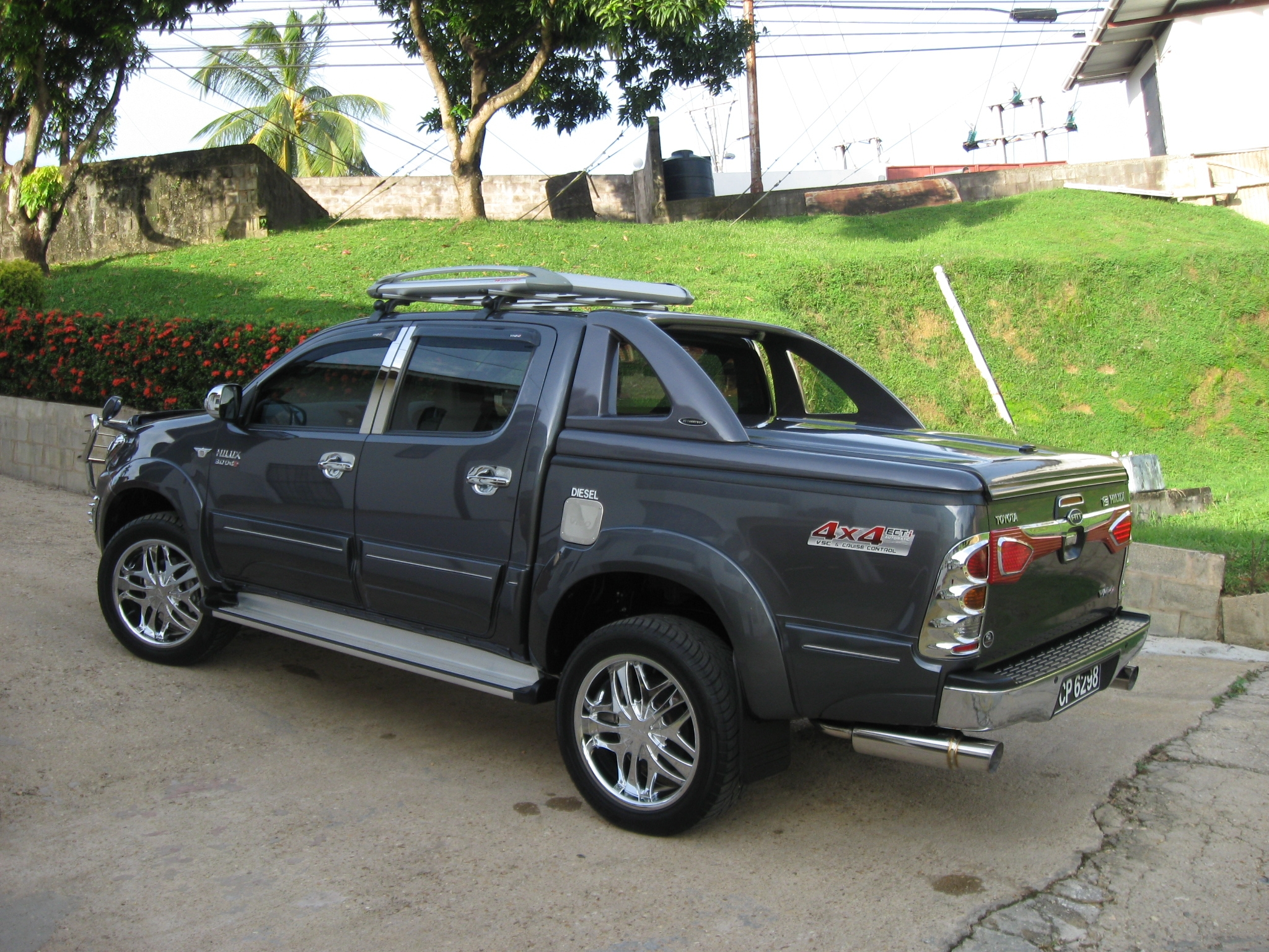 toyota hilux tuning. Black Bedroom Furniture Sets. Home Design Ideas