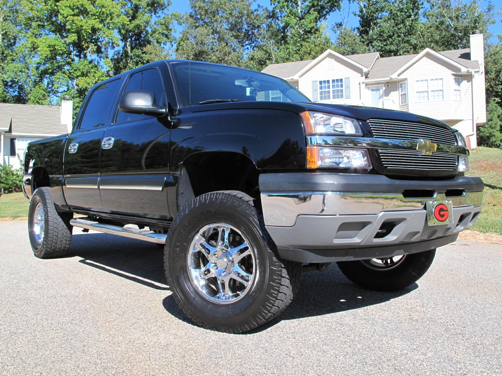 jbabcock 2005 chevrolet silverado classic 1500 crew cab specs photos modification info at. Black Bedroom Furniture Sets. Home Design Ideas