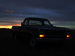 stratamicablue2 1984 Dodge D150 Regular Cab