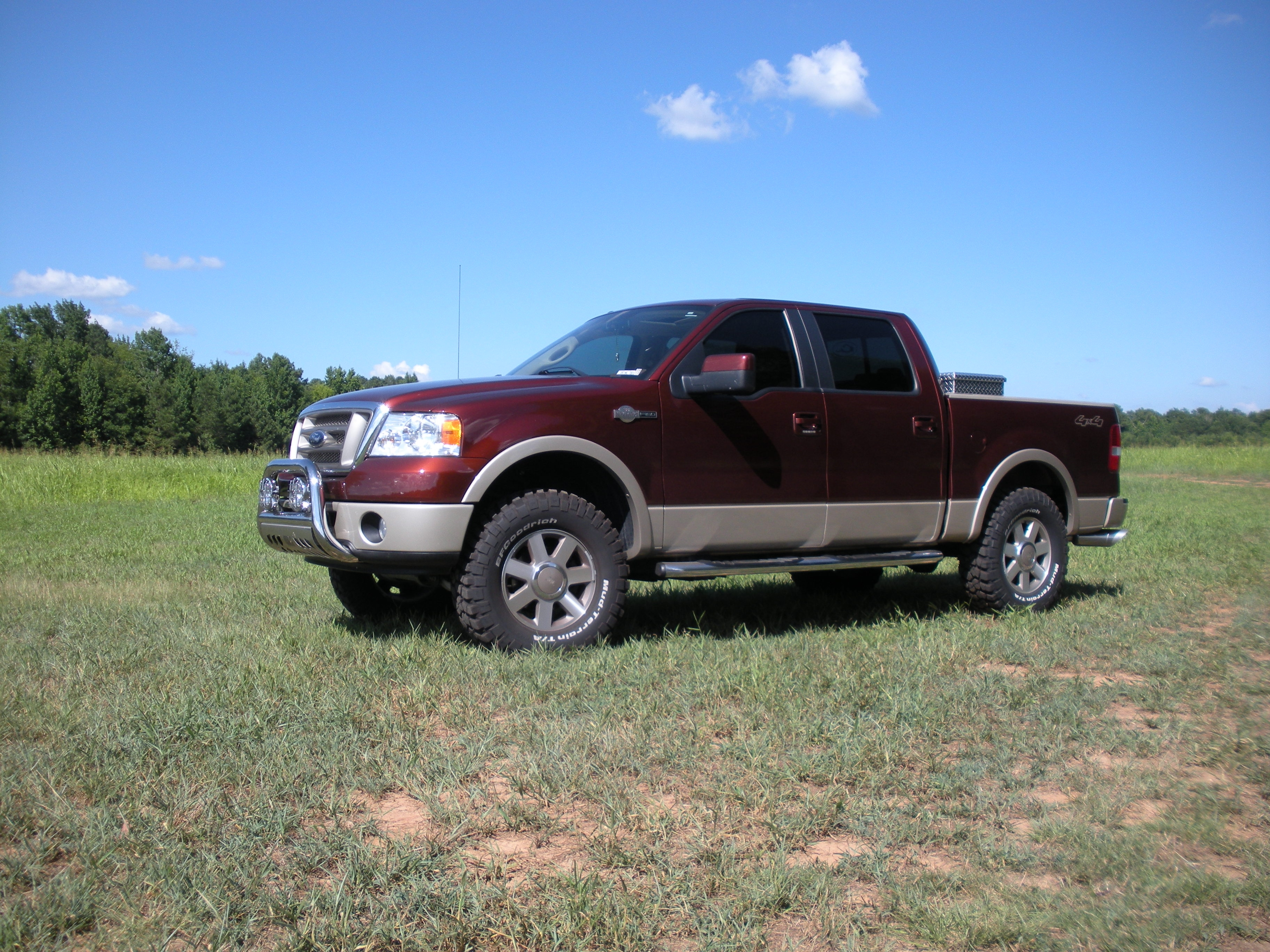 Km2kingranch 2007 Ford F150 Supercrew Cabking Ranch Styleside Pickup 4d 5 1  2 Ft Specs  Photos