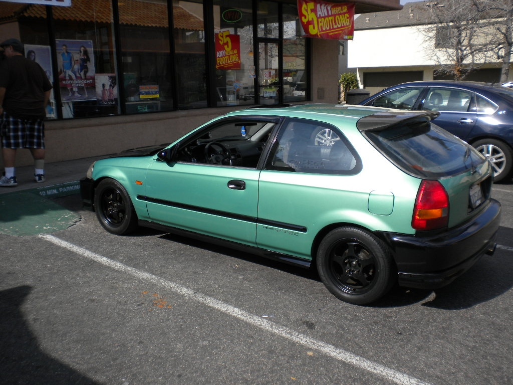 HYPNOTIK714 1996 Honda CivicDX Hatchback 2D Specs, Photos, Modification Info at CarDomain