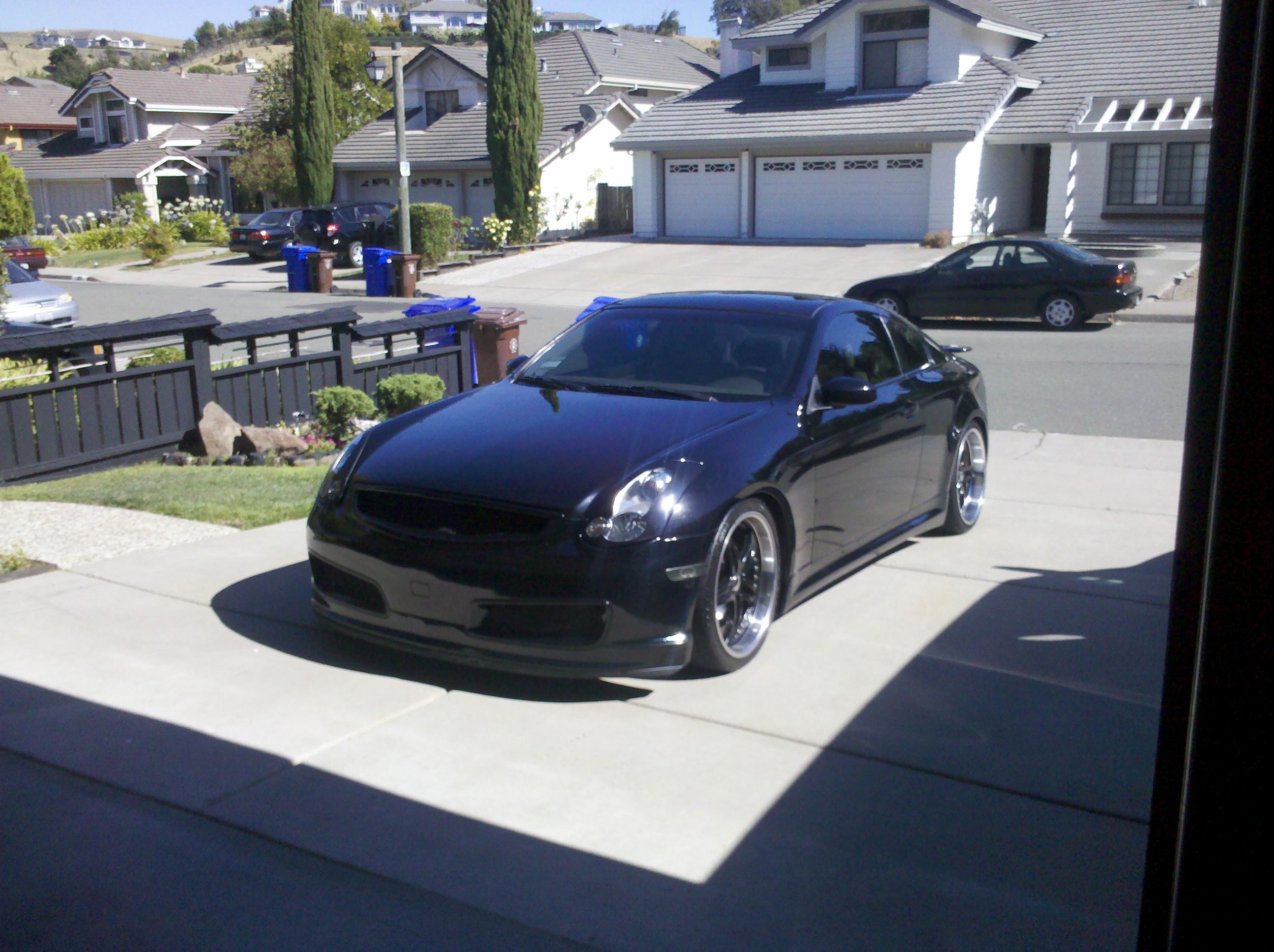 ironman7200 39 s 2006 infiniti g g35 coupe 2d in martinez ca. Black Bedroom Furniture Sets. Home Design Ideas