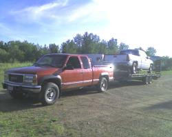 GMCVatnsdal 2000 GMC 2500 Club Coupe