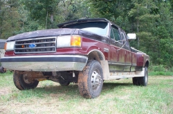 james300zx 1987 Ford F350 Super Duty Super Cab & Chassis