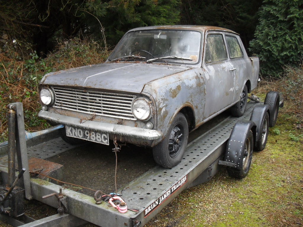 Another VOL-LO-VO 1966 Opel Kadett post... - 15740331