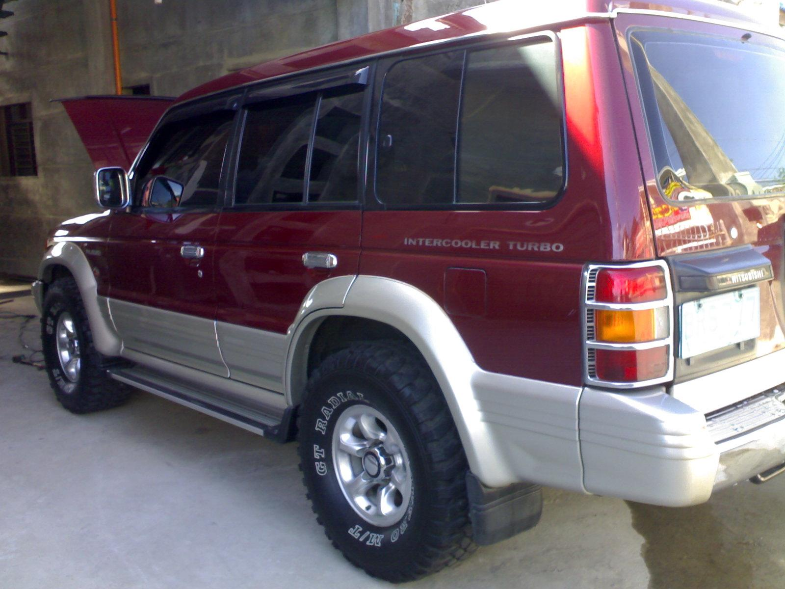 Mitsubishi pajero 1997 modified