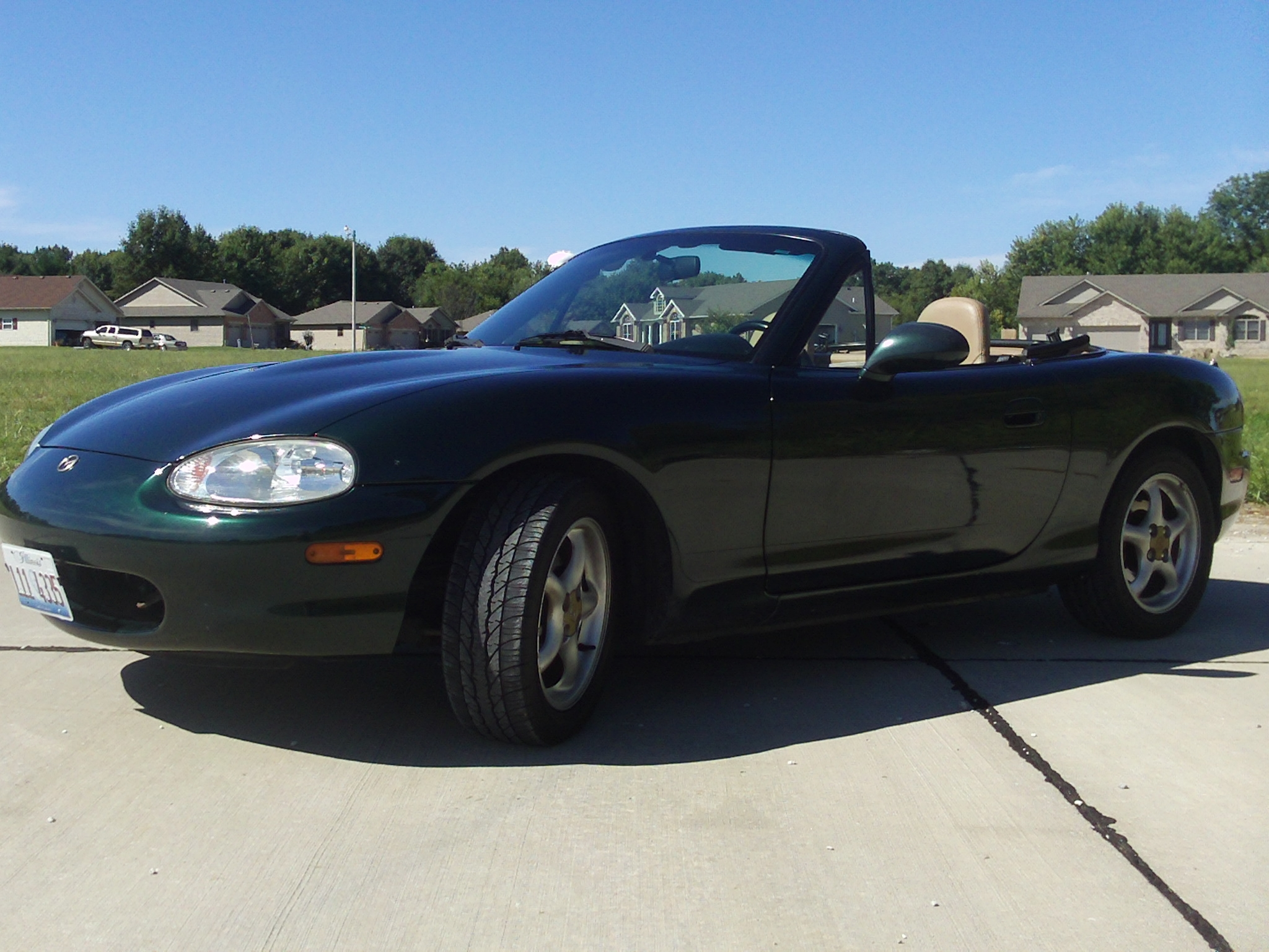 fast51 39 s 1999 mazda miata mx 5 convertible 2d in troy il. Black Bedroom Furniture Sets. Home Design Ideas