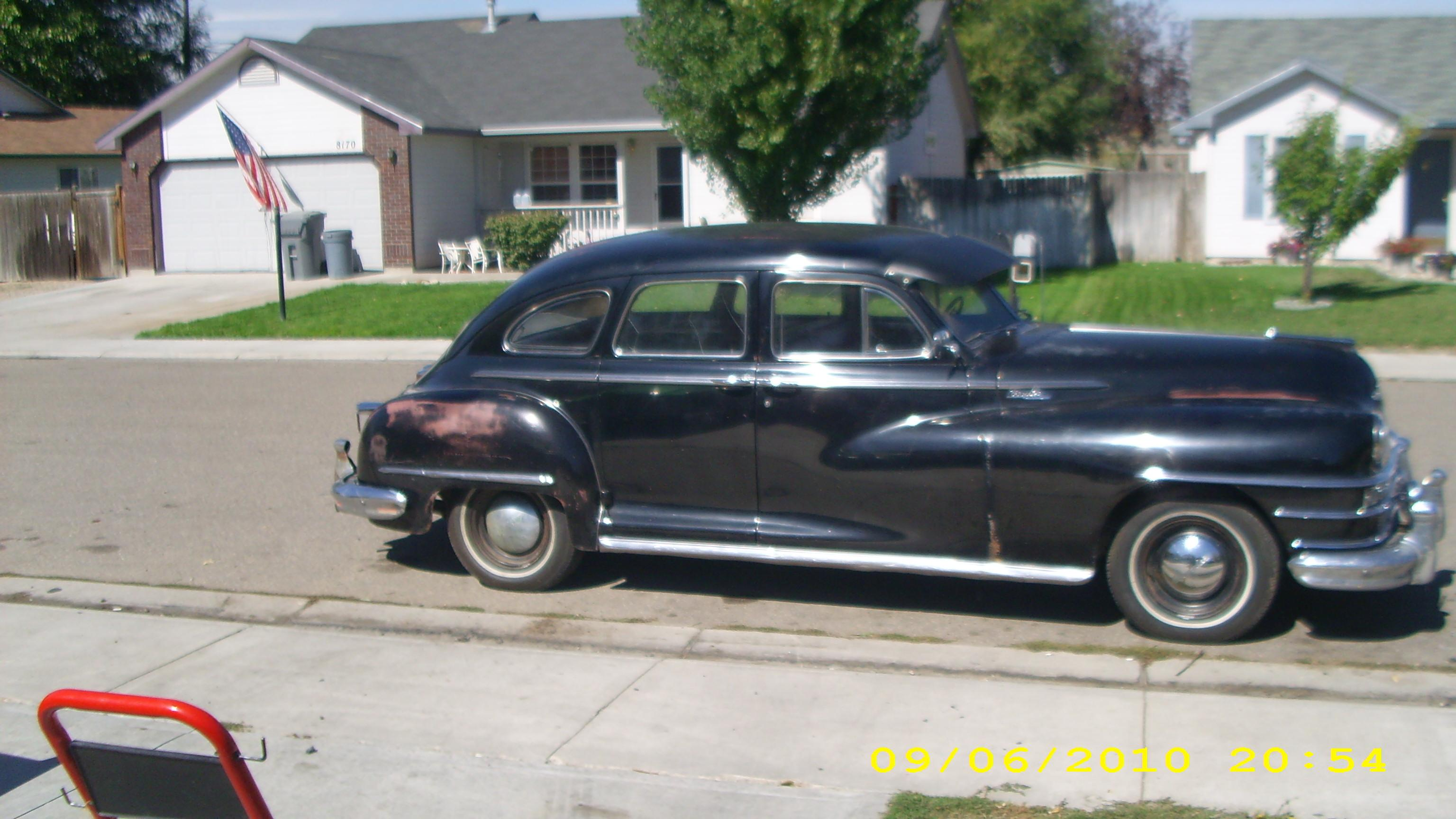 Maddtoker 1948 Chrysler Windsor Specs Photos
