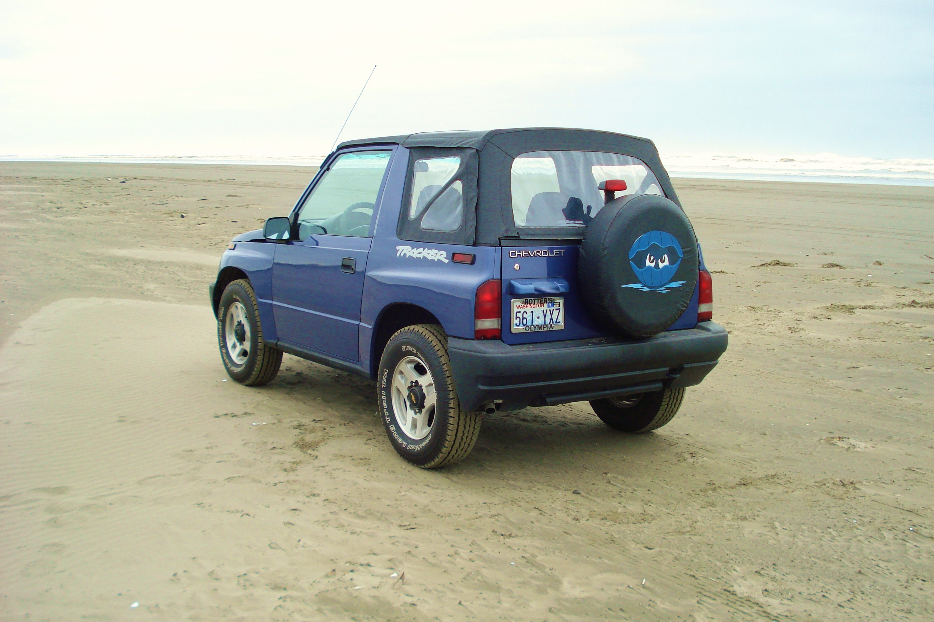Another Rawclam 1998 Chevrolet Tracker post... - 14774055