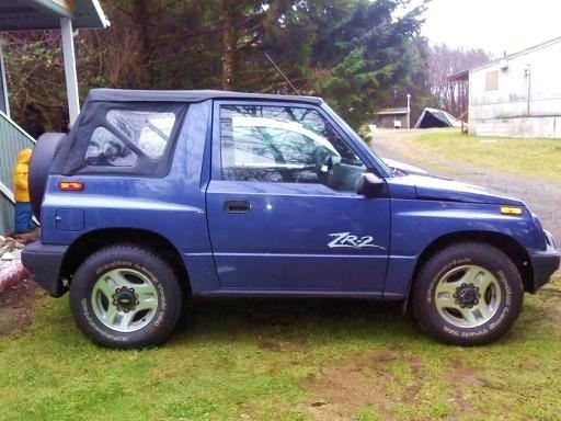 Another Rawclam 1998 Chevrolet Tracker post... - 14774065