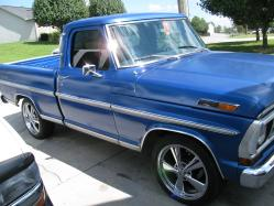 71nices 1971 Ford F150 Regular Cab