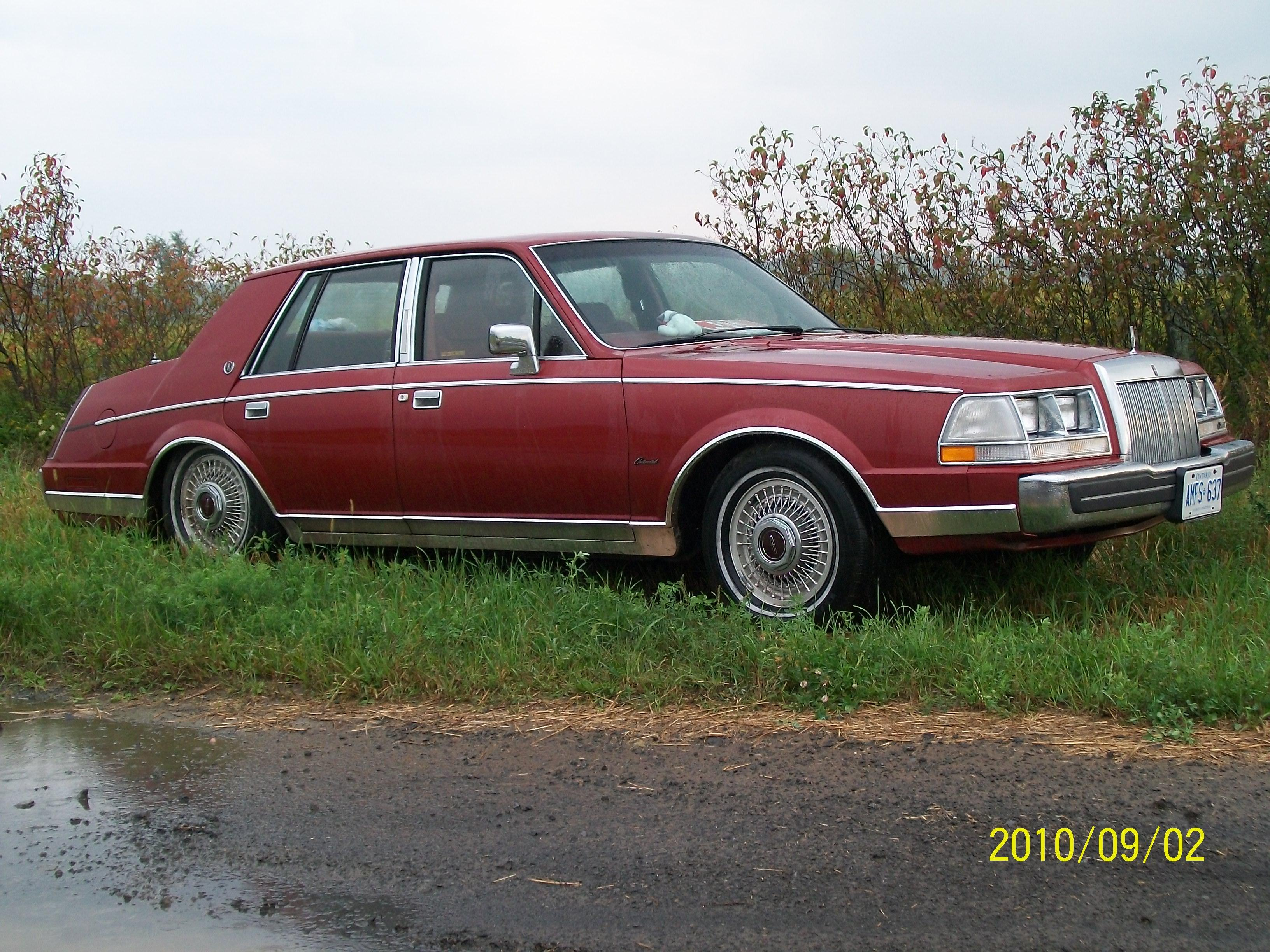 slortie 1985 Lincoln Continental 14782055