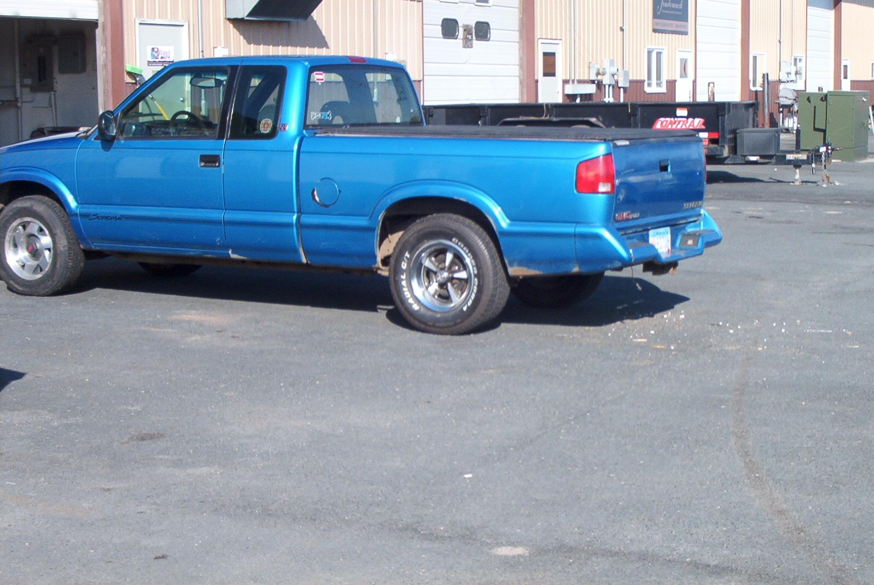 1994 gmc sonoma extended cab