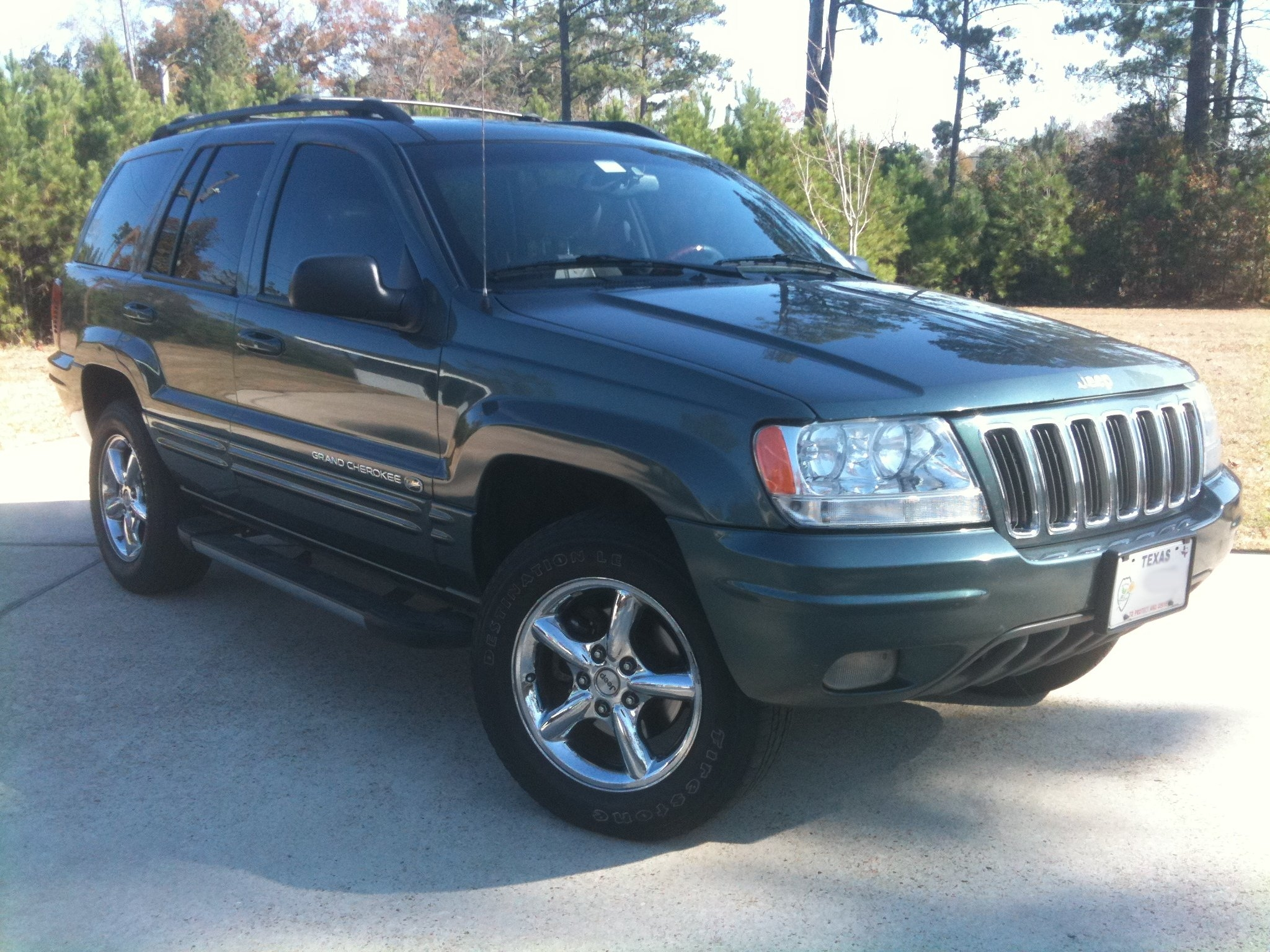 lpd235 2002 jeep grand cherokeeoverland sport utility 4d specs photos modification info at. Black Bedroom Furniture Sets. Home Design Ideas