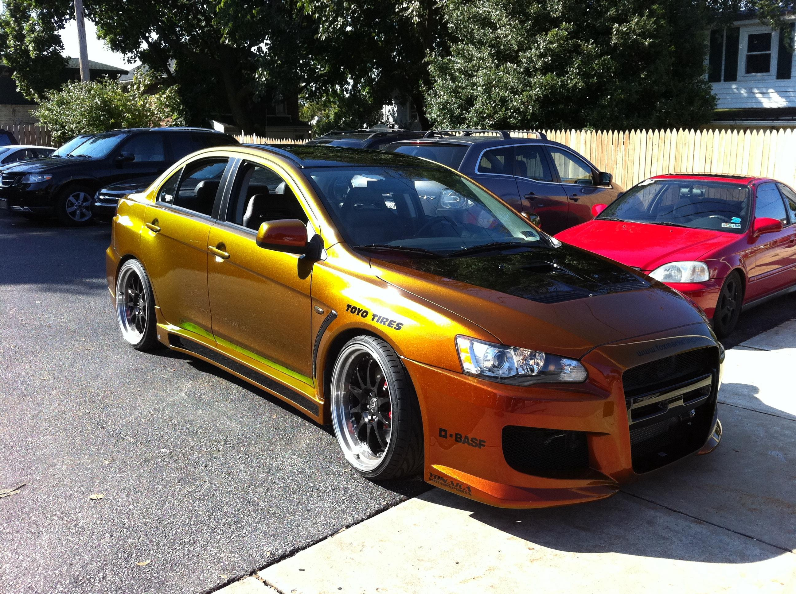 FoxMarketing2's 2008 Mitsubishi Lancer