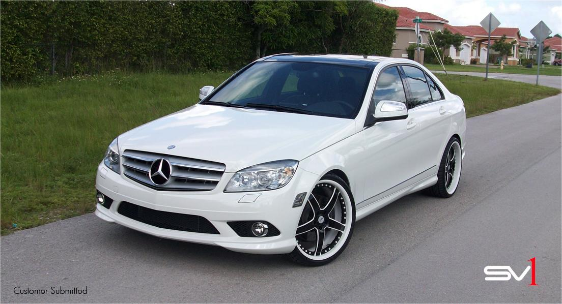 Teamsv1forged 2009 mercedes benz c classc350 sport sedan for 2009 mercedes benz c350