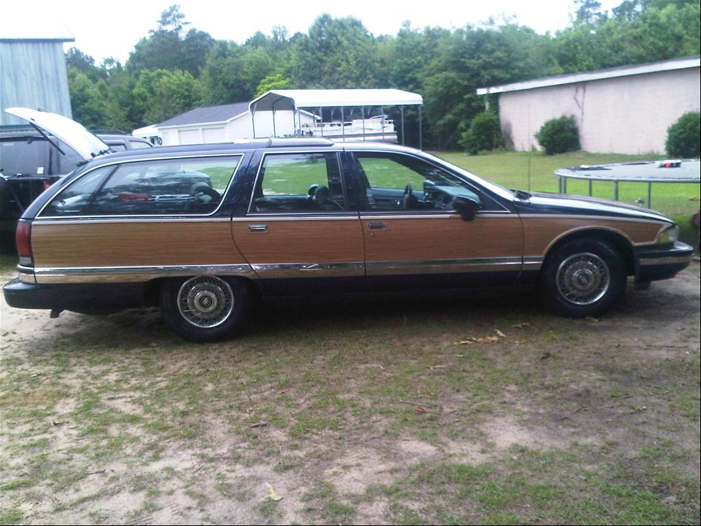 1992 Buick Roadmaster Estate Wagon 4D