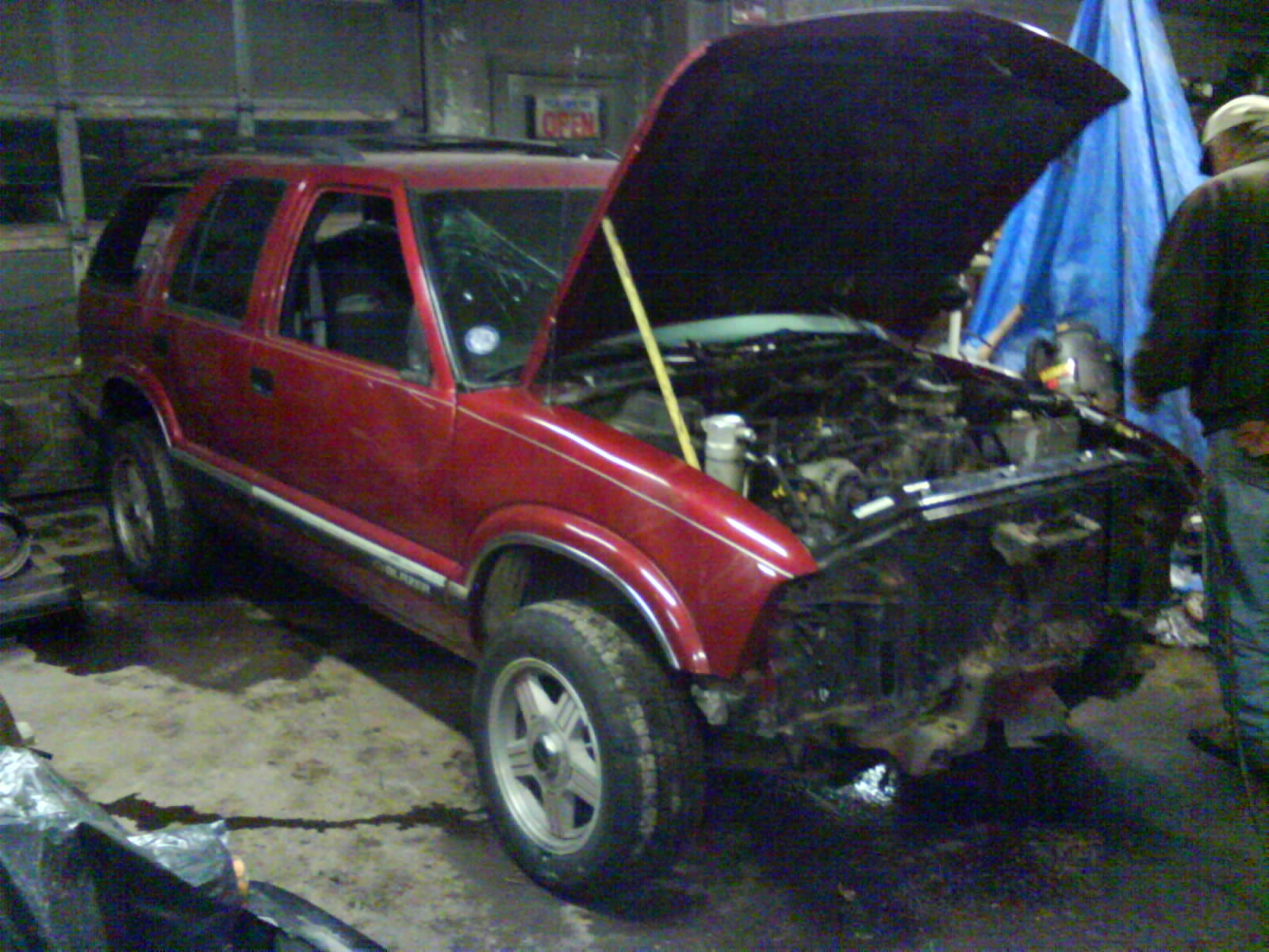 Another greenbeater 1995 Chevrolet S10 Blazer post... - 14806089