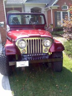 brandonthejeeps 1985 Jeep CJ7