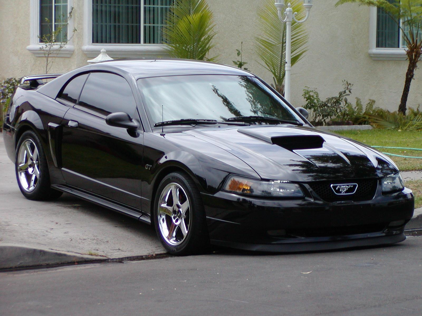 John Gt 2001 Ford Mustanggt Coupe 2d Specs Photos