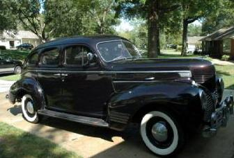 1939 Plymouth P-8