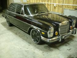 mercedesplaya 1972 Mercedes-Benz 280SE