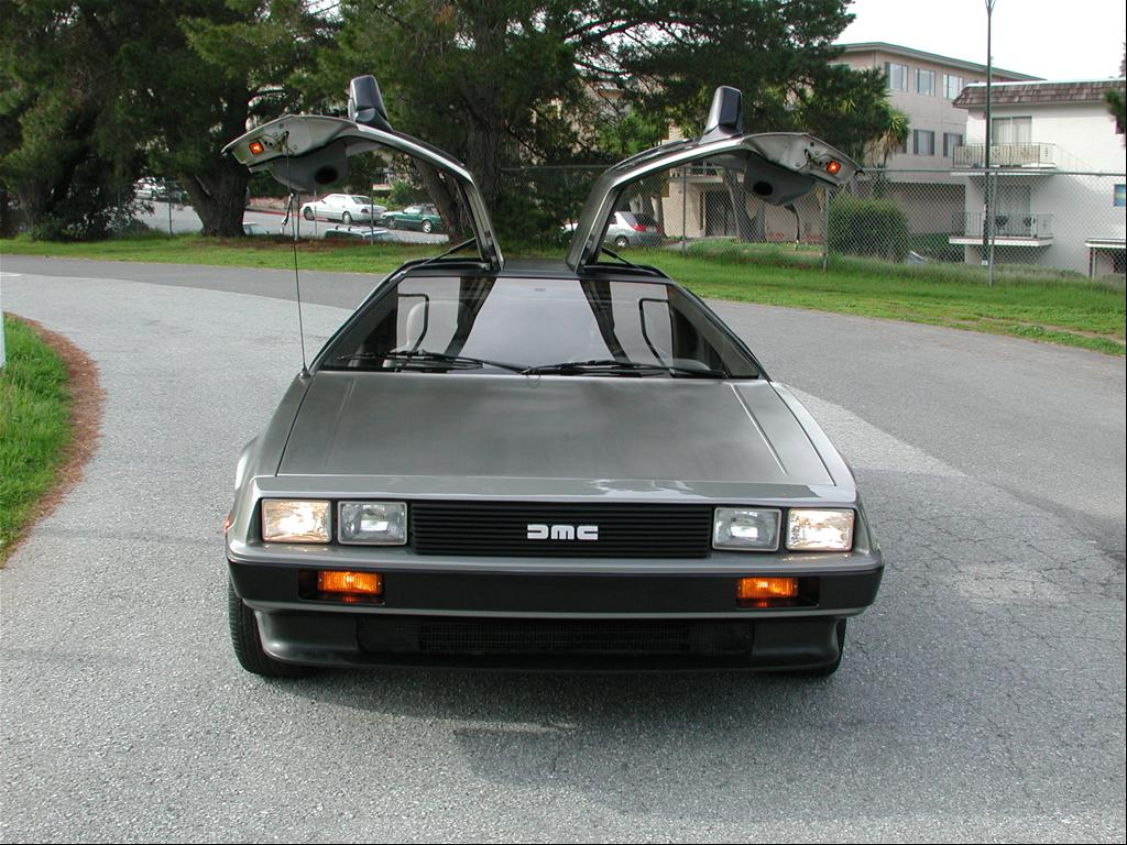 My 1981 DeLorean DMC-12