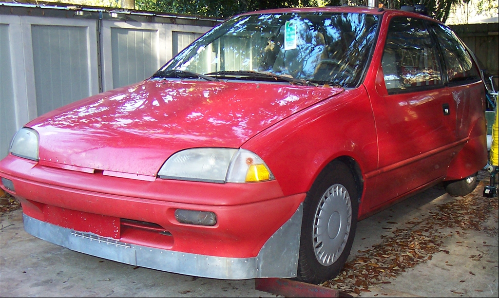 "1991 Geo Metro LSi Hatchback 2D ""Red Arrow"" - Sanford, FL owned by ..."