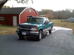 sheetsCamryLEs 1995 Chevrolet 1500 Extended Cab
