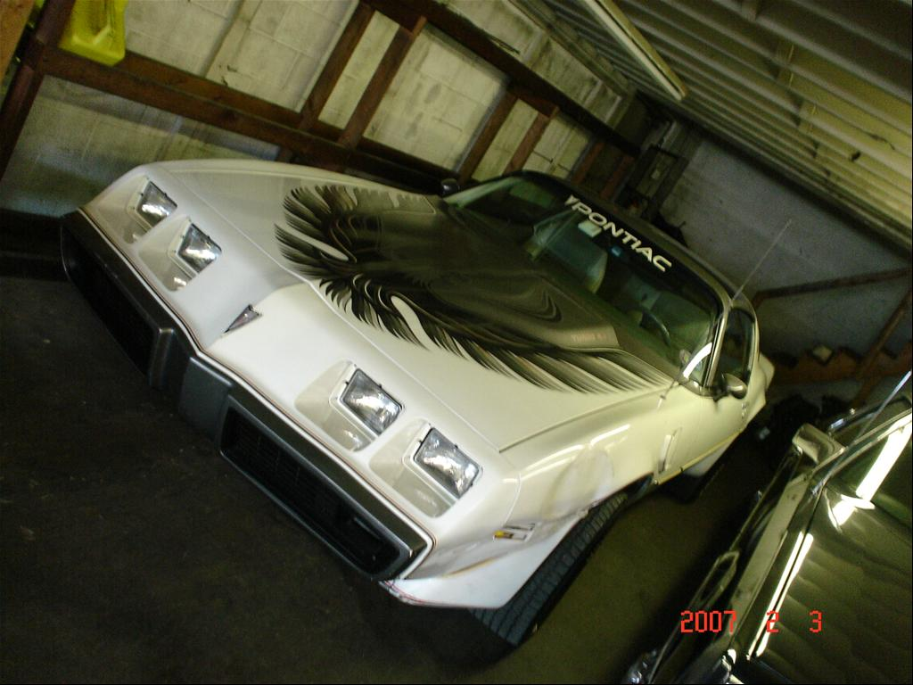 Pontiac Trans Am pace car