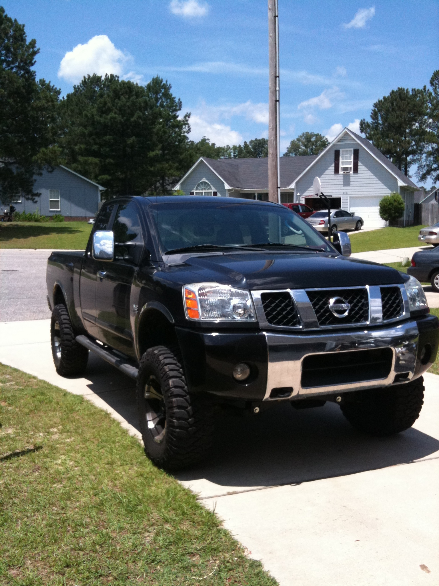 texas boy86 2004 nissan titan king cable pickup 4d 6 1 2 ft specs photos modification info at. Black Bedroom Furniture Sets. Home Design Ideas