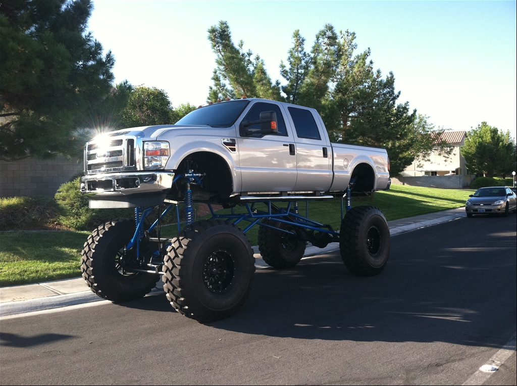 2015 Ford F-350 Super Duty Crew Cab Lifted