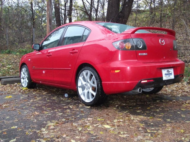 bschall 39 s 2006 mazda mazda3 s sedan 4d in st paul mn. Black Bedroom Furniture Sets. Home Design Ideas