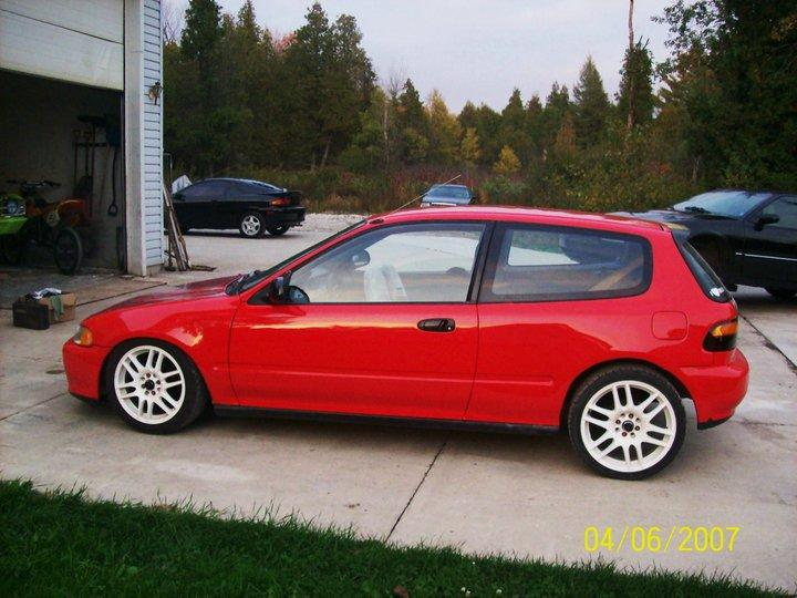 Mrronan777 1994 Honda Civicdx Hatchback 2d Specs Photos