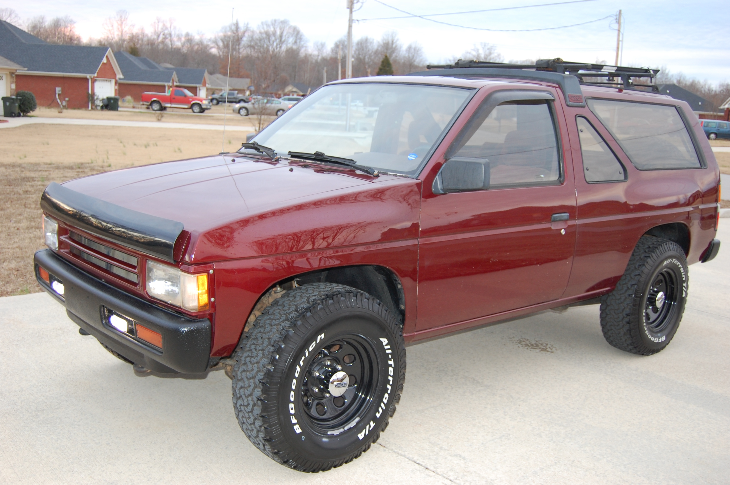 intenseconcepts1 1988 Nissan Pathfinder Specs, Photos, Modification