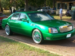 CandyGreenThangs 2000 Cadillac DeVille 
